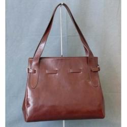 Luxusní dámská kožená kabelka